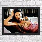 "Catherine Zeta-Jones Autographed Signed Print Photo Poster 4 mo1069 A2 16.5x23.4"""