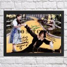 """Munchkins Cast Autographed Signed Print Photo Poster mo1065 A2 16.5x23.4"""""""
