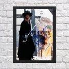"Antonio Banderas Zorro Autographed Signed Print Photo Poster 1 mo1055 A2 16.5x23.4"""