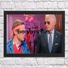 "Adam Devine Joe Biden Autographed Signed Print Photo Poster mo1051 A2 16.5x23.4"""