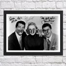"""Janet Leigh Jerry Lewis Dean Martin Autographed Signed Print Photo Poster mo1050 A2 16.5x23.4"""""""