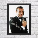 """Sean Connery James Bond 007 Autographed Signed Print Photo Poster mo132 A2 16.5x23.4"""""""