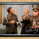 """Ken Morley 'Allo 'Allo Signed Autographed Photo Poster tv843 A2 16.5x23.4"""""""