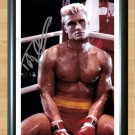"""Dolph Lundgren Rocky IV Signed Autographed Photo Poster Memorabilia 2 mo1016 A2 16.5x23.4"""""""