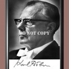 """Karl Bohm Austrian conductor Signed Autographed Poster Photo A4 8.3x11.7"""""""""""