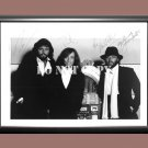 """Bee Gees Band 6 Signed Autographed Poster Photo A4 8.3x11.7"""""""""""