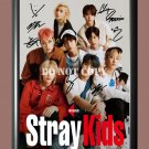 """Stray Kids Band 3 Signed Autographed Poster Photo A3 11.7x16.5"""""""""""
