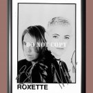 """Roxette Band Signed Autographed Poster Photo A3 11.7x16.5"""""""""""