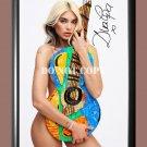 "Dua Lipa 6 Signed Autographed Poster Photo A2 16.5x23.4"""""