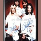 """ABBA Band 1 Signed Autographed Poster Photo A2 16.5x23.4"""""""""""