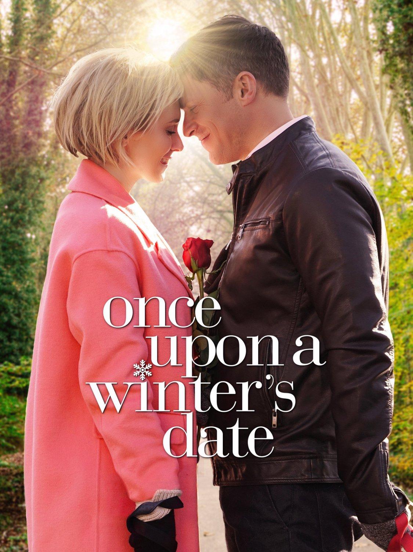 Once Upon A Winter's Date DVD 2017 Hallmark Movie Nicky Whelan Greg Vaughan