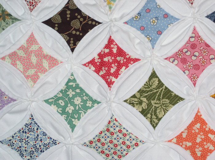 Cathedral Window Quilt Kit