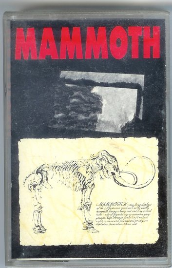 Mammoth UK Band 1988 Cassette Tape