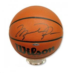 Michael Jordan Autographed Basketball (UDA)
