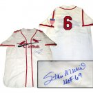 "Stan Musial Hand Signed ""HOF 69"" Cardinals Jersey"