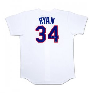 Nolan Ryan Autographed Texas Rangers Home/White Jersey (UDA)