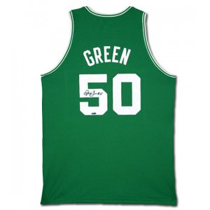 Gerald Green Autographed Boston Celtics Away/Green Jersey (UDA)