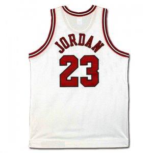 Michael Jordan Autographed Chicago Bulls Home/White Jersey (UDA)