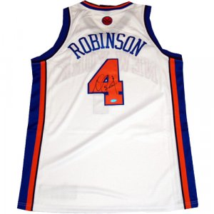 Nate Robinson Autographed NY Knicks Home Authentic Jersey