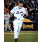 Billy Wagner Autographed Mets Fist Pump 8x10 Photograph