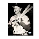 Stan Musial Autographed St. Louis Cardinals Black & White 8x10 Photo Top Loader (UDA)