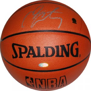 Carmelo Anthony Autographed Basketball