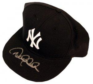 Derek Jeter Signed New York Yankees Authentic Hat Steiner