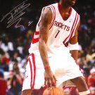 Tracy McGrady Signed 16x20 Photo Dribbling