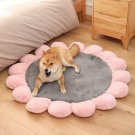 Flower Lily Pad Round Pet Bed