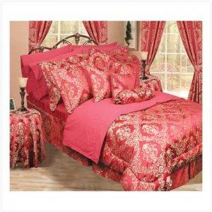 Full/ Queen 30 pc Bedroom-in-a-Bag Red