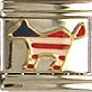 Democratic Donkey Italian Charm