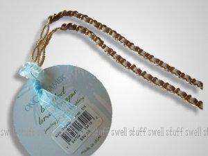 OnGossamer Decorative Chain Link & Beaded Bra Straps