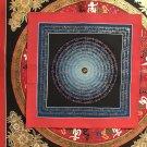 Buddha Mantra Thangka (50/50cm) - OM, om mani padme hum