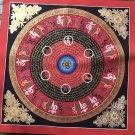 Buddha Mantra Thangka(28*28)-OM, om mani padme hum