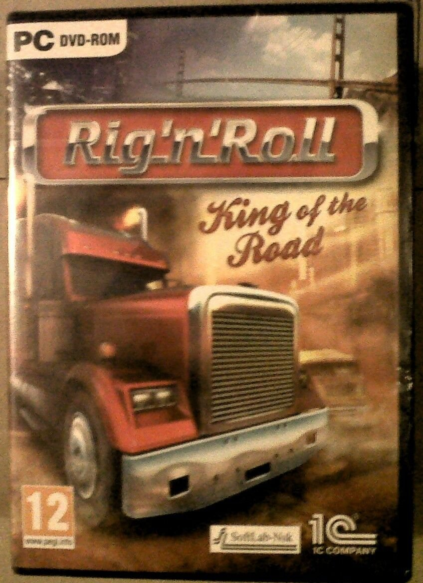 BNIB Factory Sealed Rig 'N' Roll King Of The Road 2010 PC Simulation Game -