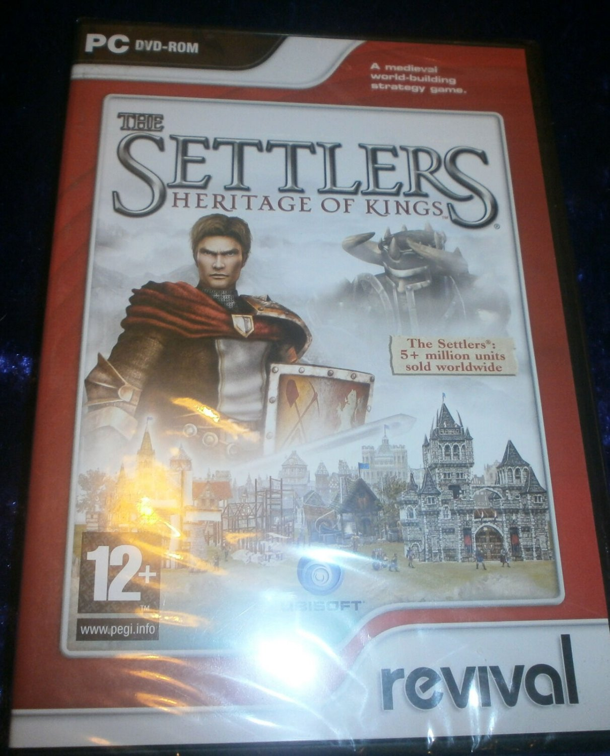 BNIB Sealed The Settlers Heritage of Kings 2007 Ubisoft PC Strategy Game