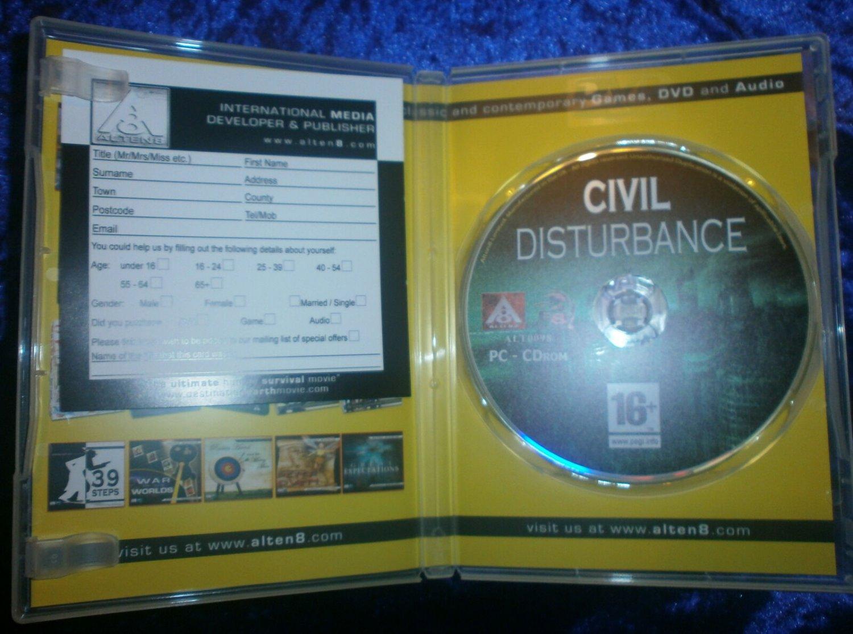 Civil Disturbance PC Game