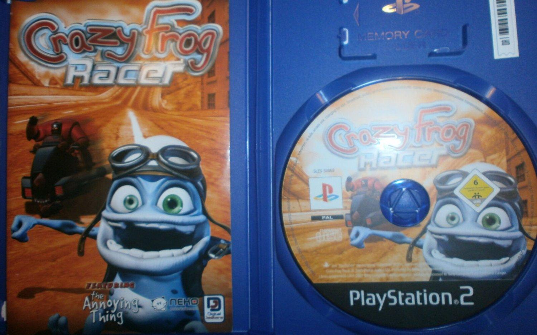 Crazy Frog Racer Digital Jesters PS2 Game