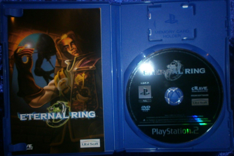 Eternal Ring Ubisoft RPG PS2 Game