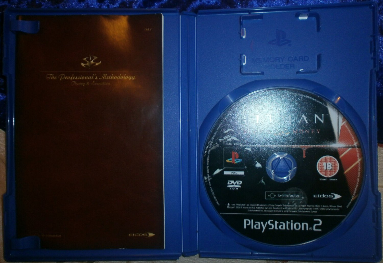 Hitman Blood Money 2005 Eidos Interactive Playstation 2 Shooter Game