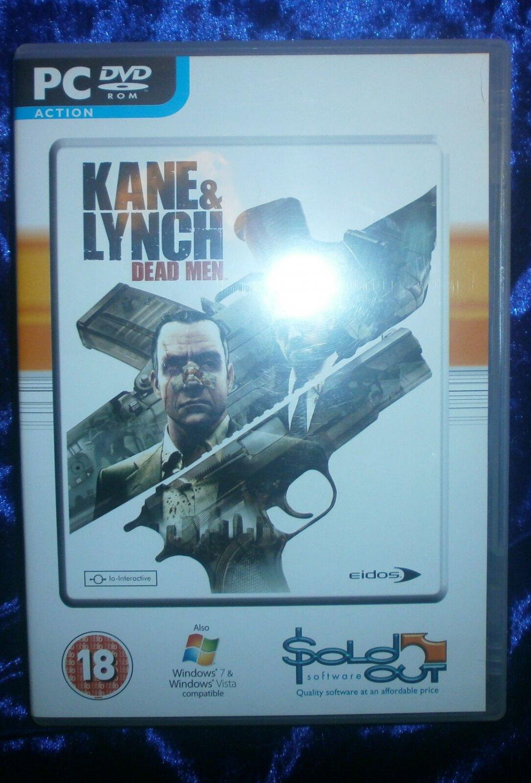 Kane & Lynch Dead Men 2010 Eidos Interactive PC Shooter Game