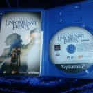 Lemony Snicket's A Series of Unfortunate Events Activision PS2 Game