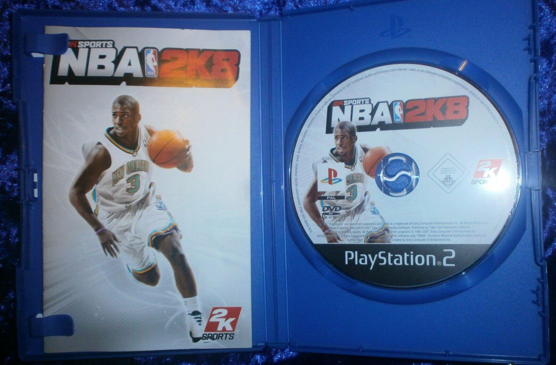 NBA 2K8 Take Two PS2 Basketball Game