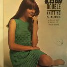 Vintage 60s Retro Iconic Era Printed Media Knitting Pattern Lister 1921 lacey dress in DK yarn