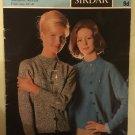 Vintage 50s Retro Iconic Era Printed Media Knitting Pattern Sirdar 2248 4ply cardigan twin set