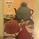 Vintage 40s Retro Iconic Era Printed Media Knitting Pattern Bestway 3650 chunky teacosies