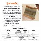 Quiet Comfort Neckwarmer Knit Pattern PDF INSTANT DOWNLOAD
