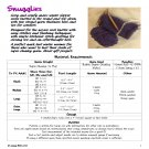 Snugglies Slipper Socks Unisex Super Chunky PDF Knitting Pattern INSTANT DOWNLOAD