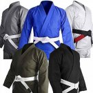 karate suit gi uniform with belt in every color with customized logo or brand