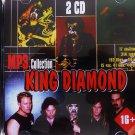 King Diamond - Collection - 2CD - Rare - 17 albums, 214 songs - Jewel case